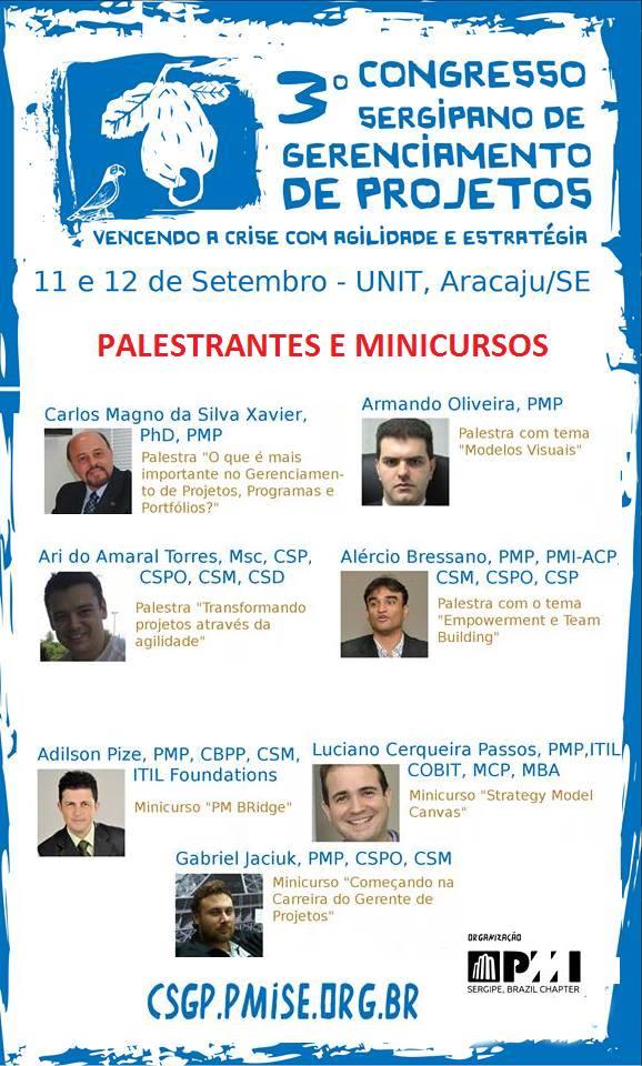 3o Congresso Sergipando de GP