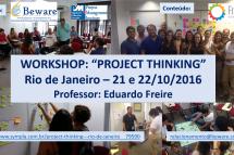 Workshop: Project Thinking – 21 e 22 de outubro – Rio de Janeiro
