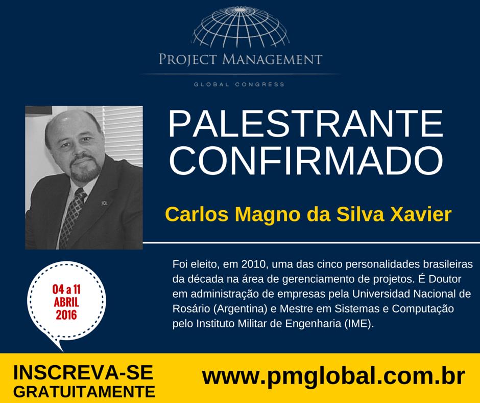 Palestra Gratuita Carlos Magno Xavier