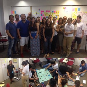 Foto turma Project Thinking