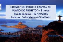 Curso Do Project Canvas ao Plano do Projeto – 02 de setembro – Rio de Janeiro