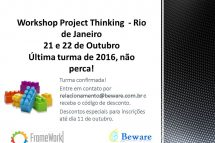 Último Project Thinking do Ano no Brasil será no RIO