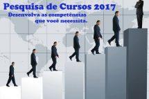 """Pesquisa de Cursos 2017 – """"Para Atender é Preciso Entender"""""""
