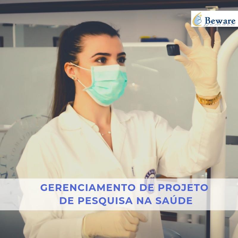 gerenciamento projeto pesquisa saúde